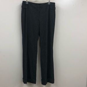 Rafaella woman's suit pant gray